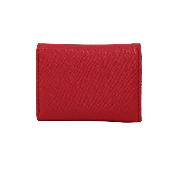 LANEVE ランイブ レディース  ミニ財布 L56803 RD レッド 赤 (169022)|tn-square|02