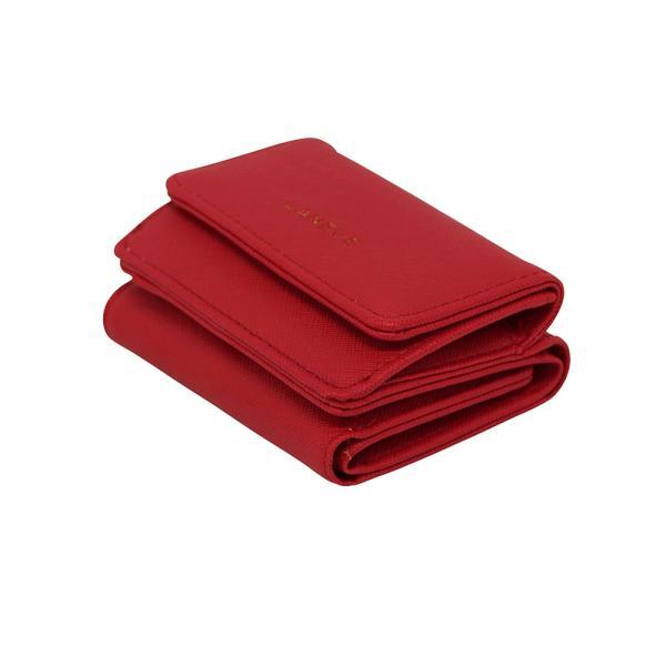 LANEVE ランイブ レディース  ミニ財布 L56803 RD レッド 赤 (169022)|tn-square|03