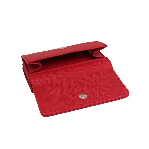 LANEVE ランイブ レディース  ミニ財布 L56803 RD レッド 赤 (169022)|tn-square|04