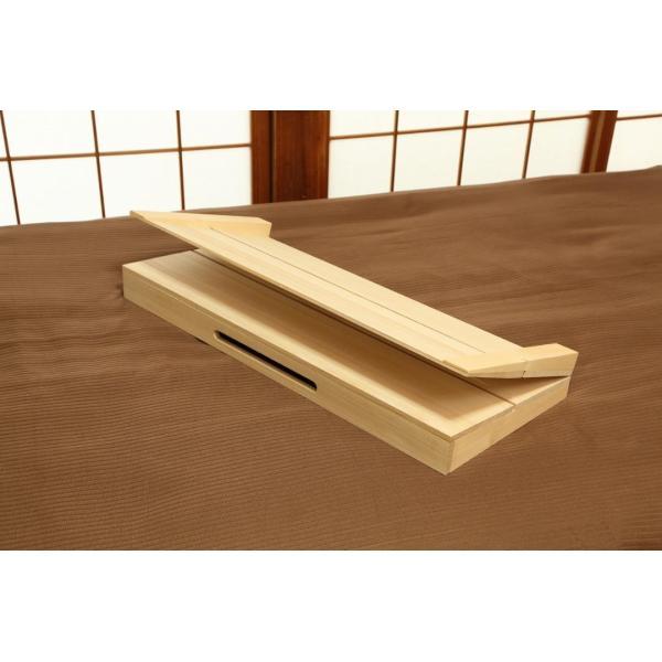 すのこ 逆流性食道炎 に悩んだ 折りたためるコンパクトタイプ 寝具の下に敷く傾斜すのこ 木工屋が造ったすのこ 寝具 逆流性食道炎緩和 桐 健康補助製品|to-be-kobo|03