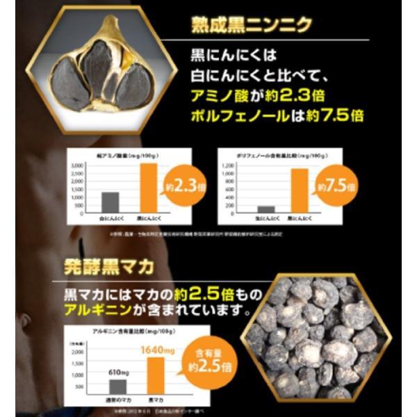 黒ニンニク 黒マカ 増大サプリ 精力剤