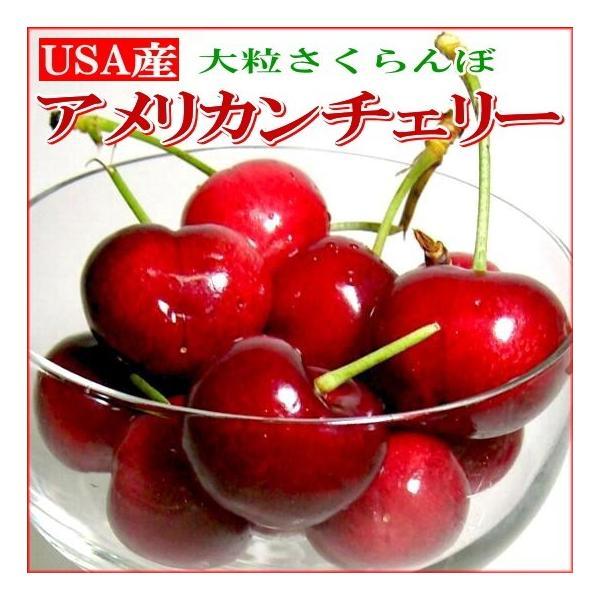さくらんぼ アメリカンチェリー 約3kg アメリカ産 大粒 USAチェリー サクランボ 桜ん坊