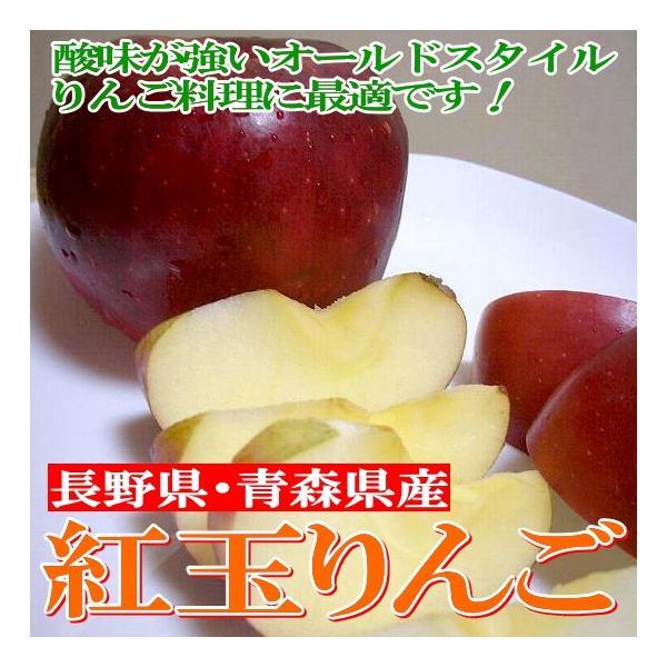 りんご 紅玉リンゴ こうぎょくりんご 約5kg 小玉 23〜25個入り 青森・長野産 りんご料理 アップルパイ りんごジャム 林檎