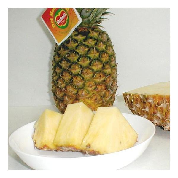 パイナップル フィリピン産 デルモンテ  ゴールデンパイン 4個入り 約1.5kg/1個  甘い 生パイン パイナップル