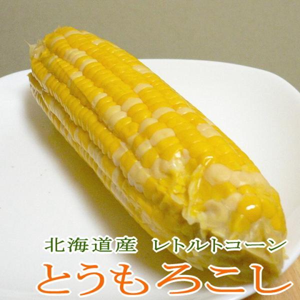 とうもろこし スイートコーン 真空パック 2Lサイズ 10本入り箱 北海道産| トウモロコシ とうきび 保存食