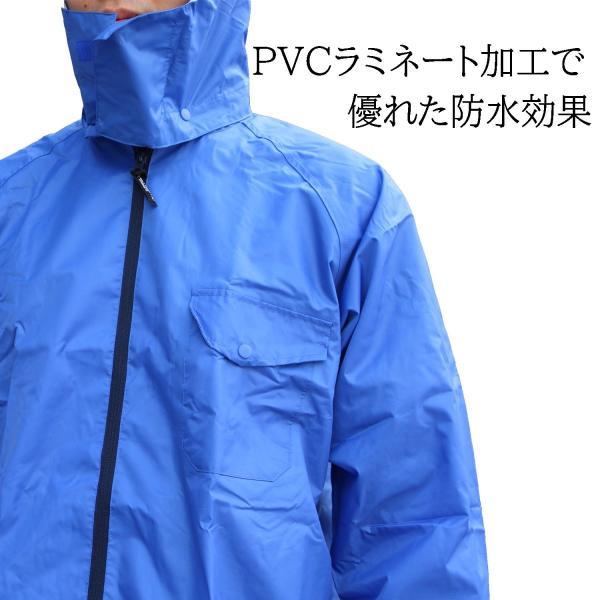 選べる5色選べる5サイズ耐久・防水レインスーツ|tobiwarabiueda|02