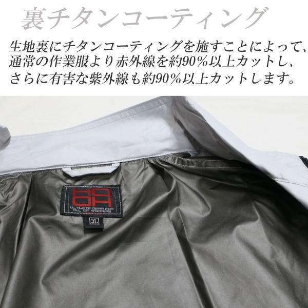 空調服 モスグリーン色 フルセット バッテリー・ファン付き  鳳皇V8304 長袖立ち襟ブルゾン ポリエステル100% tobiwarabiueda 04