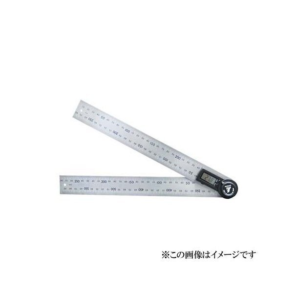 シンワ測定 デジタルプロトラクター 30cm ホールド機能付 62496