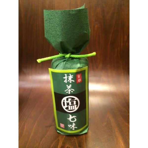 祇園味幸 抹茶塩七味(ビン)|togetsukyo