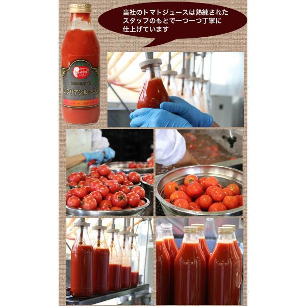 寒中見舞い ギフトセット トマトジュース 北海道 当麻  シシリアンルージュのジュースピューレ(無塩)180ml×4本+(有塩)720ml1本 祝い 国産 ギフト|tohma-greenlife|12