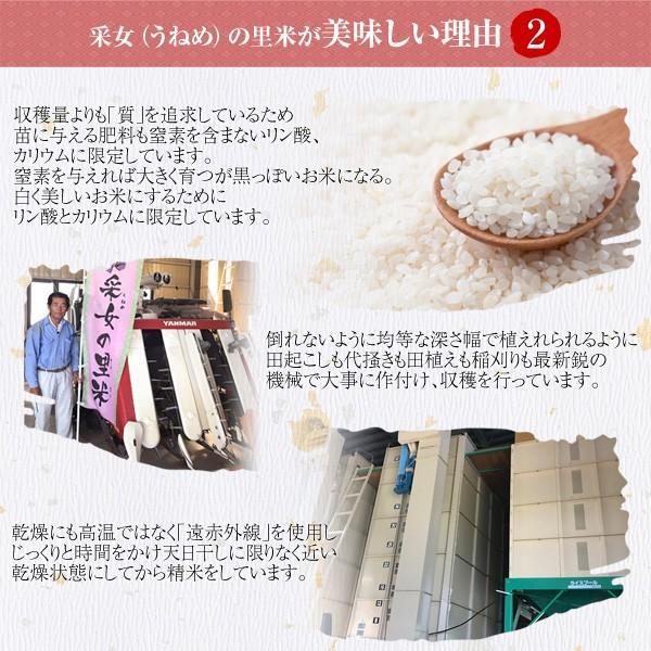 令和元年産 送料無料 福島県産コシヒカリ 特A受賞 采女の里米 10kg(5kg×2)|tohoku-happy|04