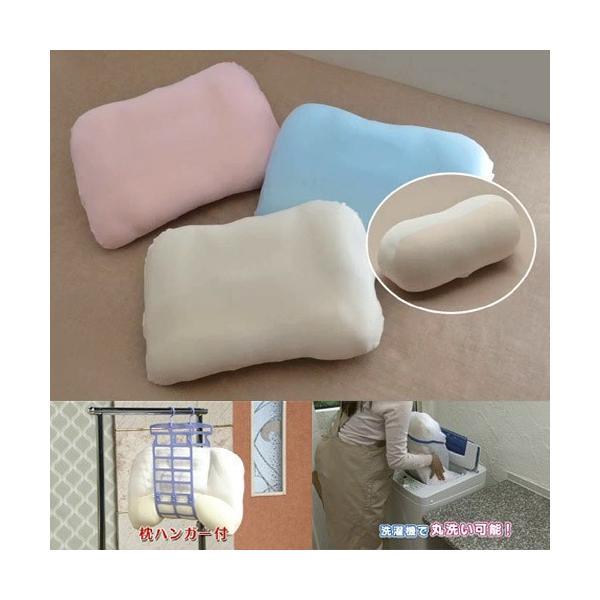  枕 もっちりフィット夢枕 枕2個・枕カバー2枚・枕ハンガー・ミニクッション付