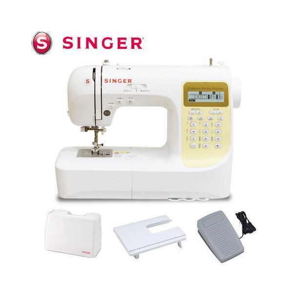  シンガー 文字縫い機能付きコンピュータミシン SN777DX-n ハードケース・ワイドテーブル・フ…