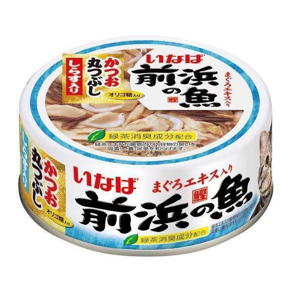 <title>[正規販売店] 前浜の魚 かつお丸つぶし しらす入 115g 猫用 フード</title>