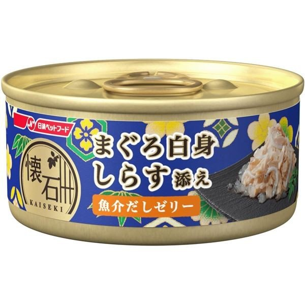 懐石缶KC1ゼリーまぐろしらす60g 猫用 フード 専門店 訳あり品送料無料