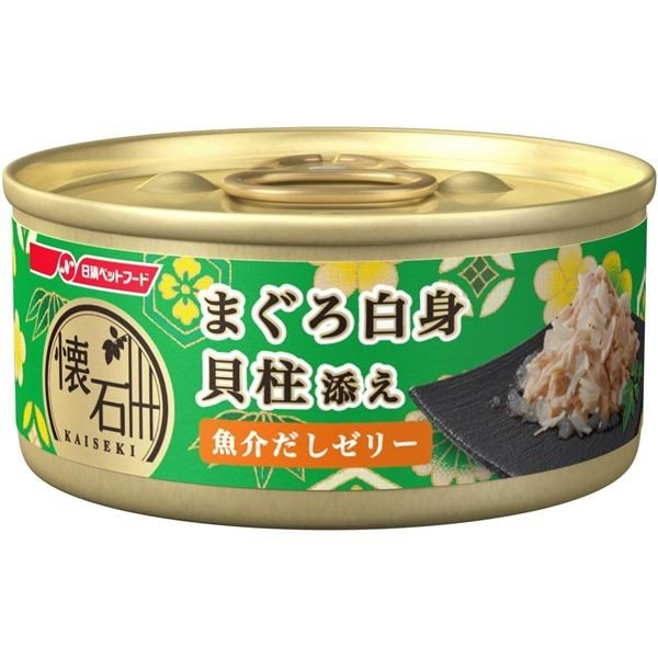 <title>懐石缶KC4ゼリーまぐろ貝柱60g 猫用 売り込み フード</title>