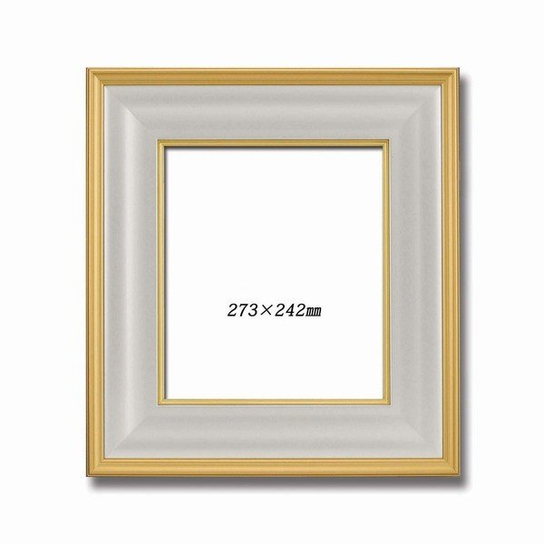 金色紙額 舗 高級色紙額 輝く金フレームの色紙額 金色紙 マット付き 273×242mm ゴールド 送料無料(一部地域を除く)