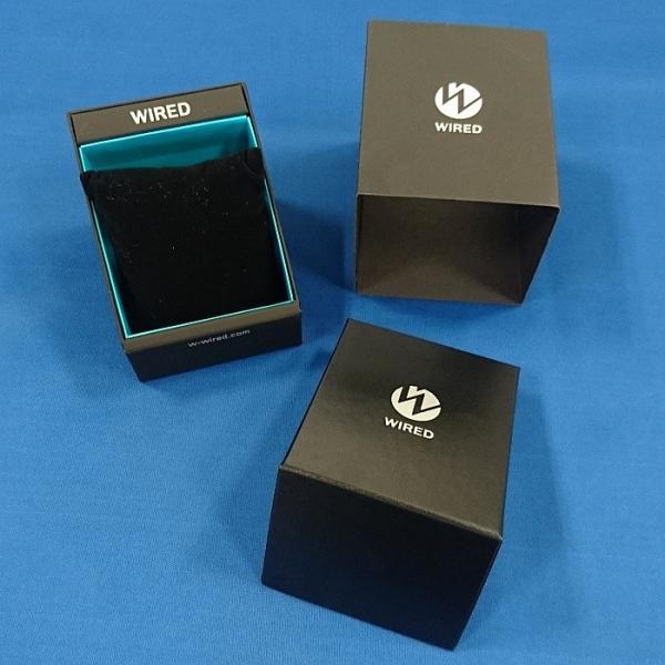 WIRED ワイアード AGAW421 THE BLUE ザ・ブルー クロノグラフ 電池式クオーツ 新品|tokei-akashiya|04