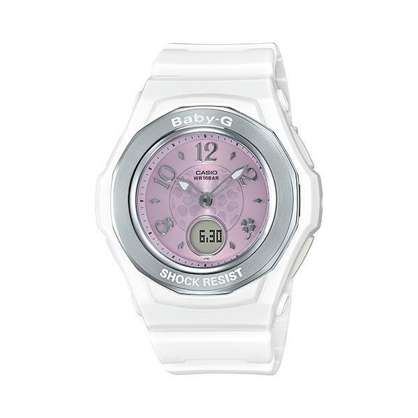 BABY-G ベビージー BGA-1050CD-7BJF 電波ソーラー WISHING CLOVER DIAL ウィッシング・クローバー・ダイアル レディース 女性向け腕時計 ホワイト|tokei-akashiya