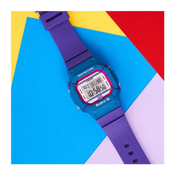 BABY-G ベビージー BGD-525F-6JR 25周年記念モデル 25TH Anniversary Model  復刻 プロテクター付き 女性用 腕時計 CASIO カシオ tokei-akashiya 03