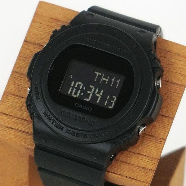 BABY-G ベビージー BGD-570-1JF レトロ・クラシック デジタル表示 レディース 腕時計 オールブラック tokei-akashiya 02