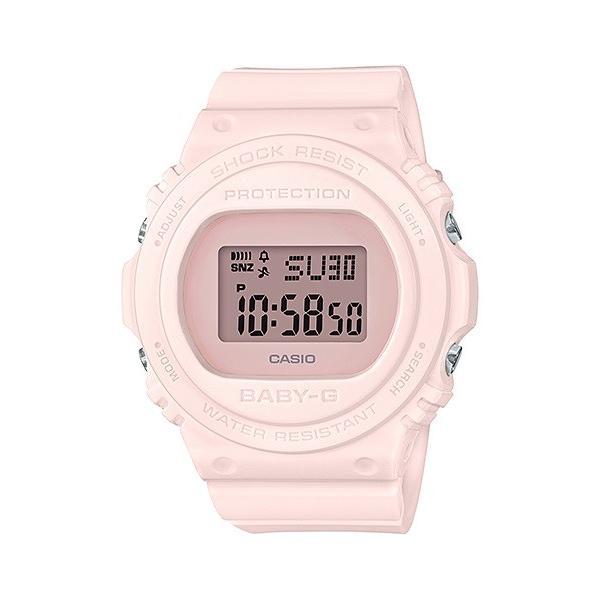 BABY-G ベビージー BGD-570-4JF レトロ・クラシック デジタル表示 レディース 腕時計 オールピンク tokei-akashiya