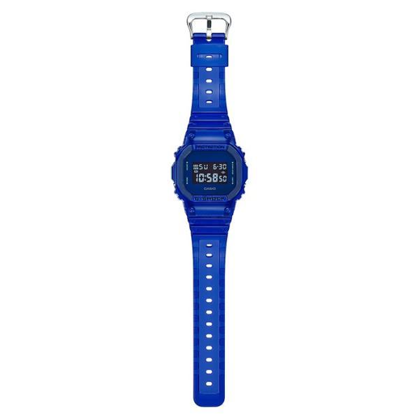 G-SHOCK ジーショック DW-5600SB-2JF スクエアフェイス Color Skeoton Series シースルー素材 ブルー 腕時計 CASIO カシオ|tokei-akashiya|03