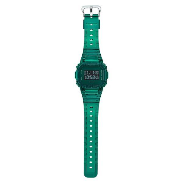 G-SHOCK ジーショック DW-5600SB-3JF スクエアフェイス Color Skeoton Series シースルー素材 グリーン 腕時計 CASIO カシオ tokei-akashiya 03