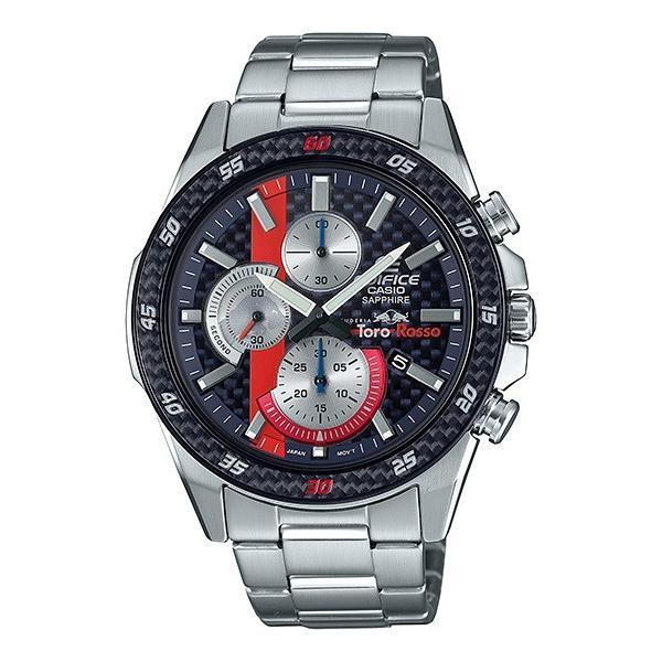 EDIFICE エディフィス EFR-S567YTR-2AJR スクーデリア・トロ・ロッソ・リミテッドエディション 第7弾 腕時計 メタルバンド tokei-akashiya