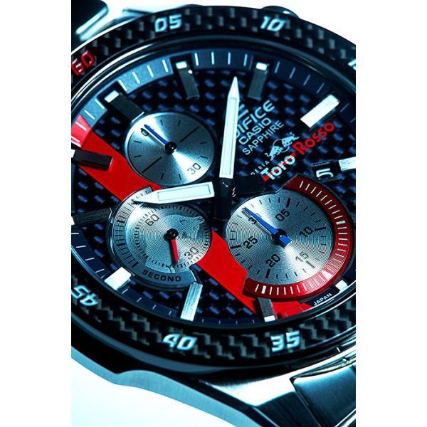 EDIFICE エディフィス EFR-S567YTR-2AJR スクーデリア・トロ・ロッソ・リミテッドエディション 第7弾 腕時計 メタルバンド tokei-akashiya 04