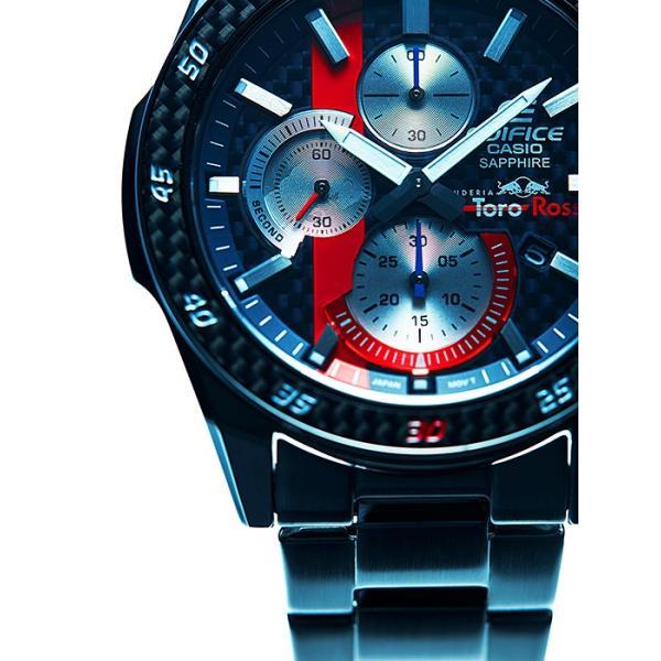 EDIFICE エディフィス EFR-S567YTR-2AJR スクーデリア・トロ・ロッソ・リミテッドエディション 第7弾 腕時計 メタルバンド tokei-akashiya 05