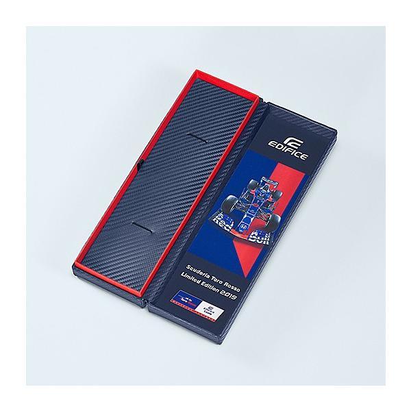 EDIFICE エディフィス EQB-1000TR-2AJR スクーデリア・トロロッソ・リミテッドエディション 第7弾 スマートフォンリンク タフソーラー 腕時計 クロスバンド|tokei-akashiya|03