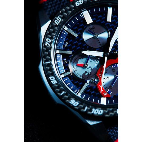 EDIFICE エディフィス EQB-1000TR-2AJR スクーデリア・トロロッソ・リミテッドエディション 第7弾 スマートフォンリンク タフソーラー 腕時計 クロスバンド|tokei-akashiya|05