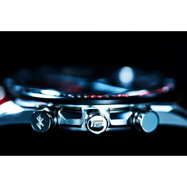 EDIFICE エディフィス EQB-1000TR-2AJR スクーデリア・トロロッソ・リミテッドエディション 第7弾 スマートフォンリンク タフソーラー 腕時計 クロスバンド|tokei-akashiya|06
