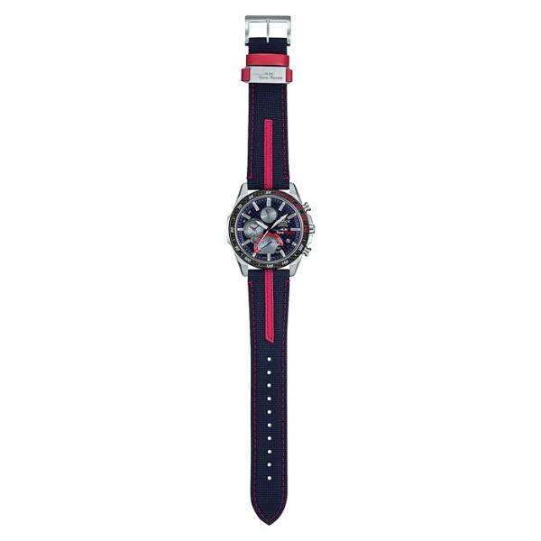 EDIFICE エディフィス EQB-1000TR-2AJR スクーデリア・トロロッソ・リミテッドエディション 第7弾 スマートフォンリンク タフソーラー 腕時計 クロスバンド|tokei-akashiya|02