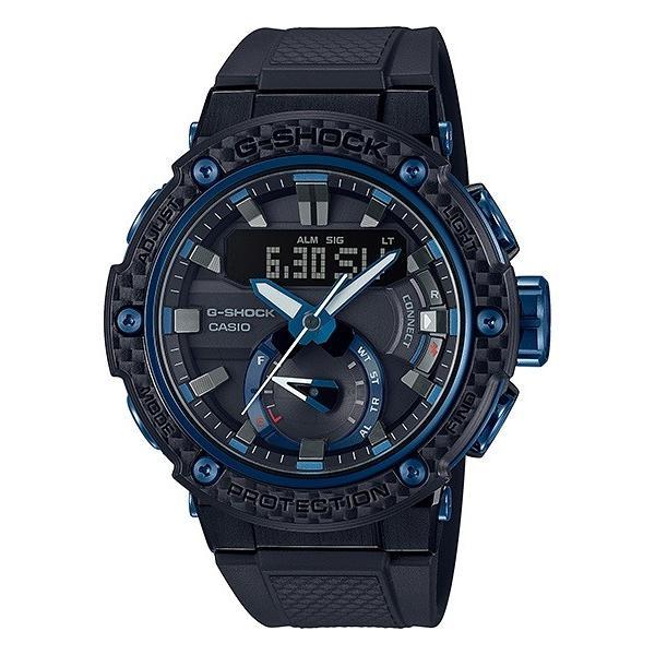 G-SHOCK ジーショック GST-B200X-1A2JF カーボンコアガード構造 G-STEEL Bluetooth対応 タフソーラー メンズ 腕時計 tokei-akashiya