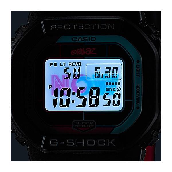 【訳アリ特価】 G-SHOCK ジーショック GW-B5600GZ-1JR 電波ソーラー Gorillazコラボモデル Bluetooth対応 メンズ腕時計 外箱にシワがございます|tokei-akashiya|04