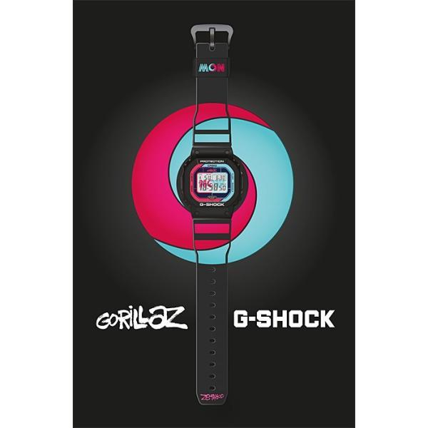 【訳アリ特価】 G-SHOCK ジーショック GW-B5600GZ-1JR 電波ソーラー Gorillazコラボモデル Bluetooth対応 メンズ腕時計 外箱にシワがございます|tokei-akashiya|06