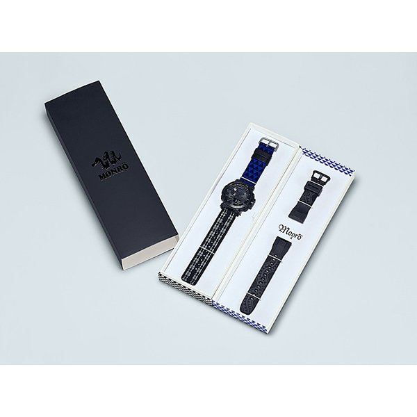 PRO TREK プロトレック PRW-6600MO-1JR モンロ コラボレーションモデル 電波ソーラー腕時計 付け替え用デュラソフトバンド付き|tokei-akashiya|05