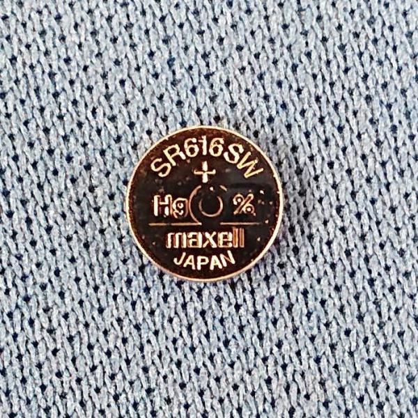送料無料 SR616SW(321)×1個(バラ売り) 腕時計用酸化銀ボタン電池 無水銀 maxell マクセル 安心の日本製・日本語パッケージ|tokei-akashiya|03