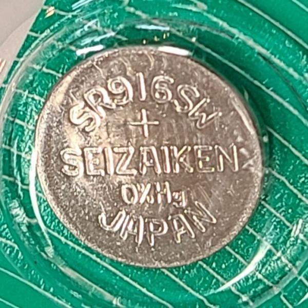 送料無料 SR916SW(373)×1個(バラ売り) 腕時計用酸化銀 ボタン電池 無水銀 SEIZAIKEN セイコーインスツル SII 安心の日本製・日本語パッケージ|tokei-akashiya|03