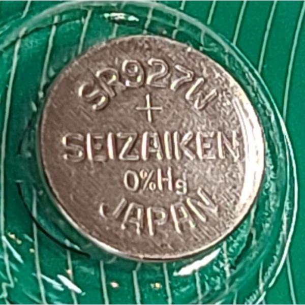 送料無料 SR927W(399)×1個(バラ売り) 腕時計用酸化銀 ボタン電池 無水銀 SEIZAIKEN セイコーインスツル SII 安心の日本製・日本語パッケージ|tokei-akashiya|03