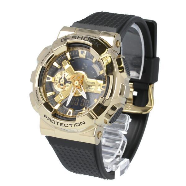 CASIOカシオG-SHOCKジーショックGショック腕時計時計メンズアナログデジタル防水ゴールドメタルMetalCoveredモ