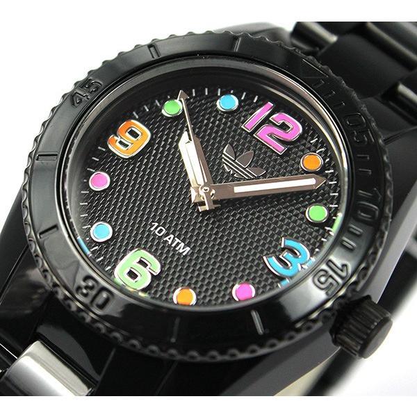 02f139af0f ... 腕時計 アディダス adidas 腕時計 ADH2943 BRISBANE mini 黒 ブラック ブリスベン 腕時計 防水 レディース キッズ  ...