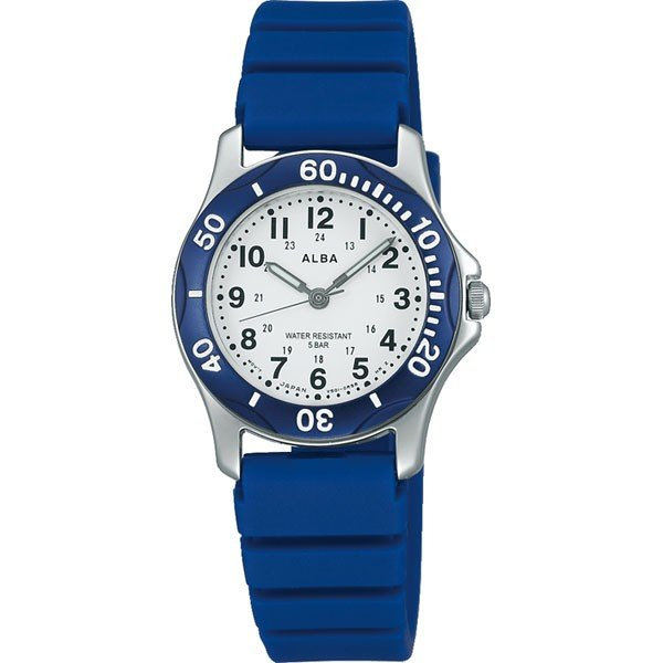 ポイント最大19倍 SEIKO セイコー ALBA アルバ AQQS006 国内正規品 レディース レディス 腕時計 青 ブルー ウレタン バンド