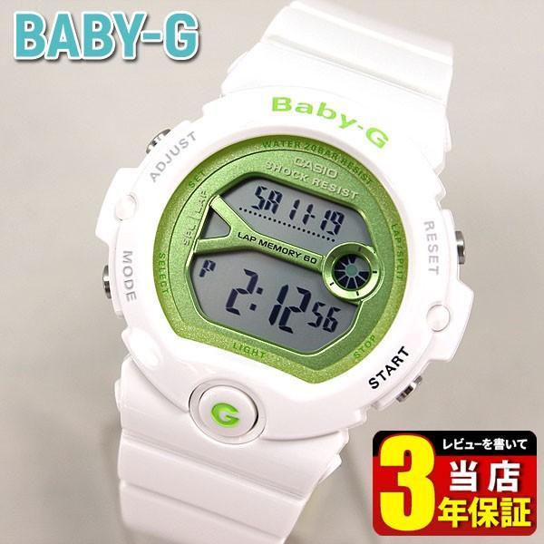 1b91768940 CASIO Baby-G カシオ ベビーG BG-6900シリーズ レディース 腕時計 時計 白 ホワイト ...