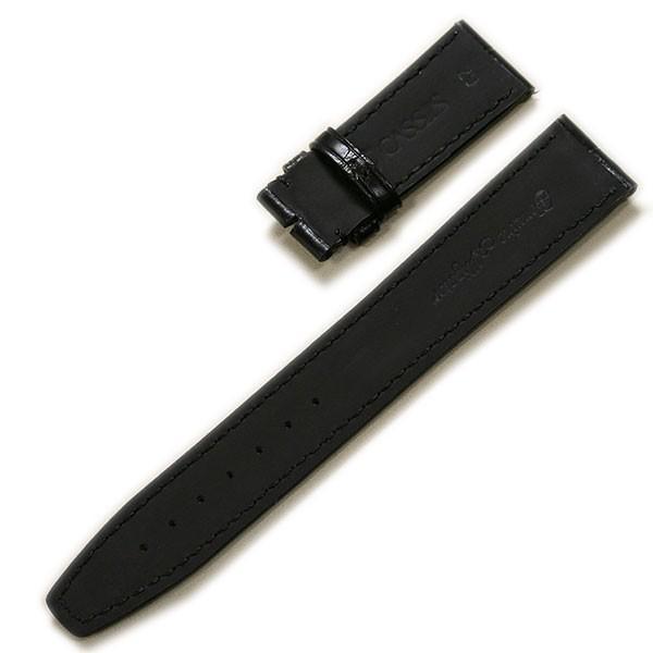 カシス TYPE POR D マットアリゲーター裏ラバー)IWC ポルトギーゼ 純正Dバックル対応 時計ベルト 対応サイズ:20mm,22mm