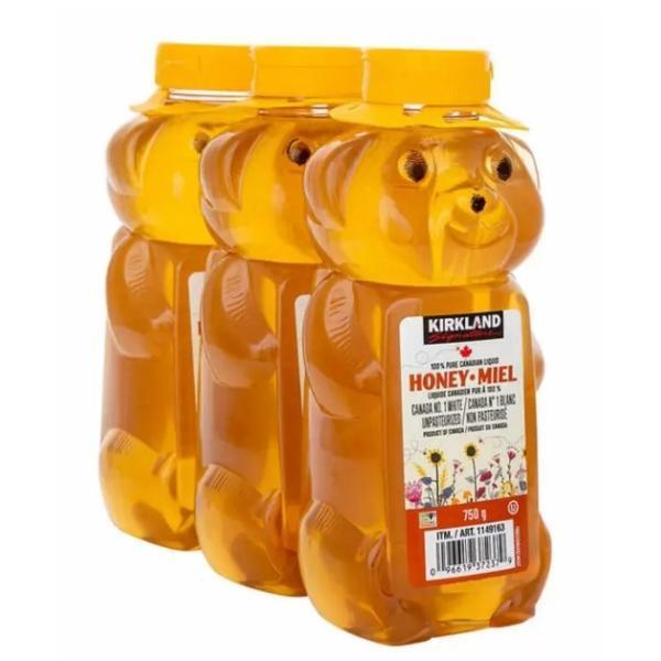 送料無料 コストコ はちみつベアージャグ 750g×3本 15240 カナダ産 カークランドシグネチャー ハニー はちみつ 蜂蜜 ハチミツ 甘味料 自然な甘さ