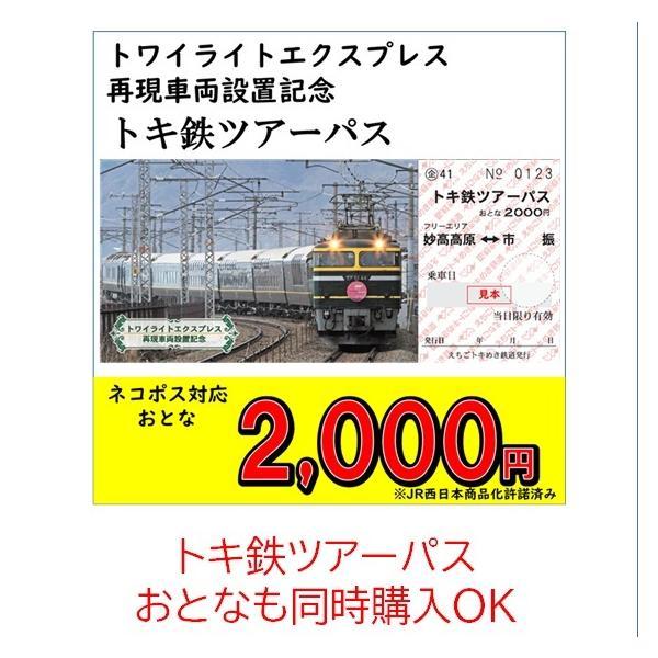 じもパス 大人 トワイライトエクスプレス再現車両設置記念|tokitetsu-official|07