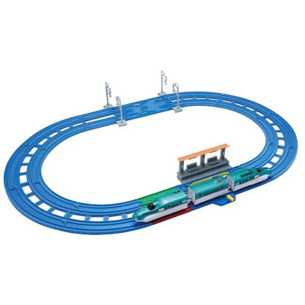 プラレール レーンがクロス! E5系新幹線 はやぶさベーシックセット